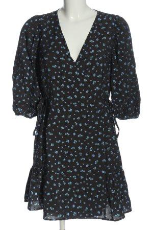 Edited Robe portefeuille imprimé allover style décontracté