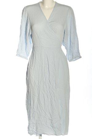 Edited Kopertowa sukienka niebieski W stylu casual