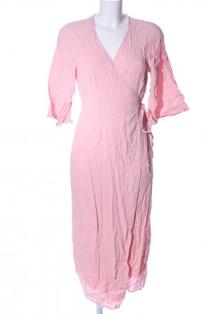 Edited Robe portefeuille rose style d'affaires