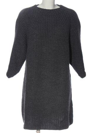 Edited Vestido de lana gris claro look casual