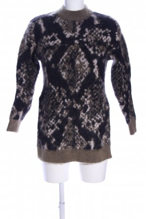 Edited Wollpullover Allover-Druck Casual-Look
