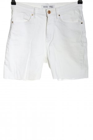 Edited x Lena Terlutter Jeansshorts weiß Casual-Look