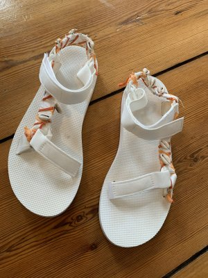 Edited Comfort Sandals white-salmon polyester