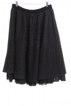 Edith & Ella Midi Skirt black elegant