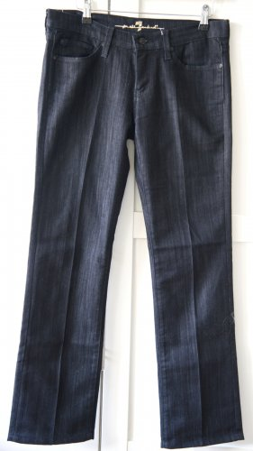7 For All Mankind Jeans a gamba dritta nero