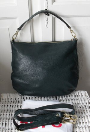 edle Abro Hobo Bag Juna aus Leder forest nur 1 x getragen NP 239 €