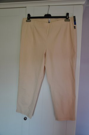Adelina 7/8 Length Trousers cream viscose