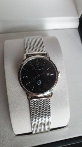 Maurice Lacroix Reloj analógico negro-color plata