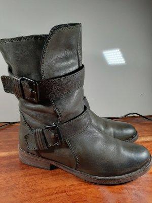 Kennel + schmenger Buskins khaki leather