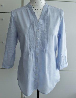 edle Bluse Gr. 38 Hellblau nur wenige Male getragen