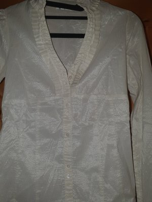 Orsay Glanzende blouse wit