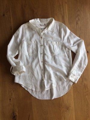 Adenauer & Co Shirt Blouse natural white