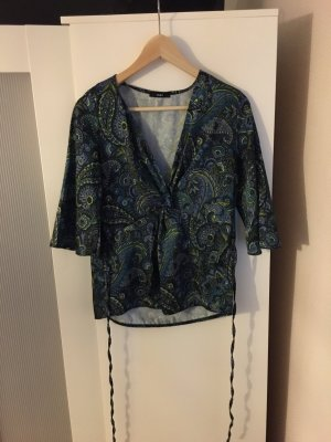 Edle Bluse in Blumenmuster