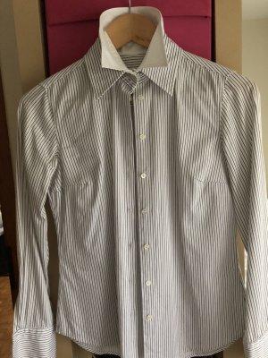 Edle Bluse mit Doppelkragen und Doppelmanschetten von Gant
