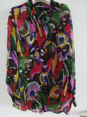 Edle Bluse von CACHAREL, leuchtende Farben, Gr. 38