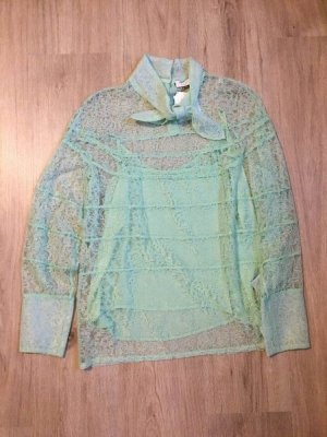 Sandro Lace Blouse mint