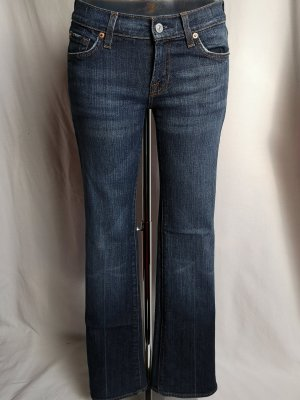 7 For All Mankind Denim Flares multicolored