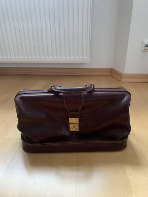 Doctor's Briefcase cognac-coloured-gold-colored