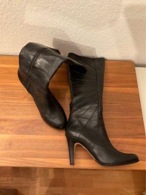 Buffalo London Heel Boots black leather