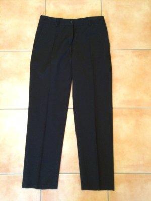 andere Marke Pantalon en laine noir laine