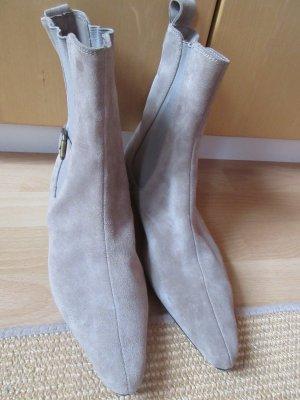 Edle Chelsea Boots aus Wildleder, Stiefeletten, Booties, Franco Ballin