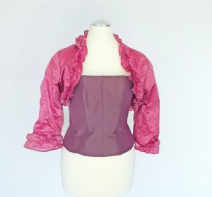 Corsage Top mauve silk