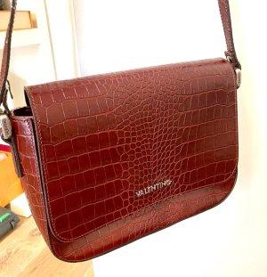 Valentino Crossbody bag bordeaux leather