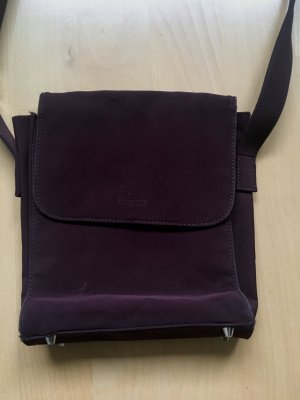 Guess Sac en toile bordeau-violet
