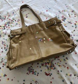 Edle Handtasche von Hallhuber, Echtleder