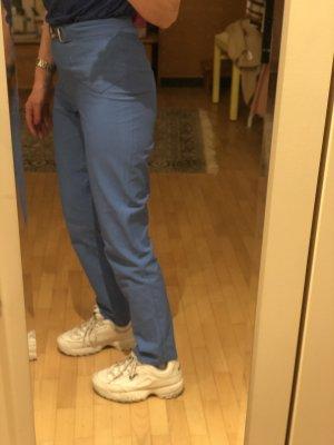 Deyk Pantalone a vita alta blu fiordaliso
