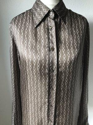 Gucci Silk Blouse brown-beige silk