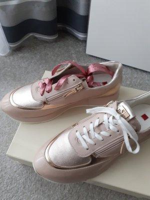 Edle Högl Sneaker Gr. 39 rose/gold NP 160 €