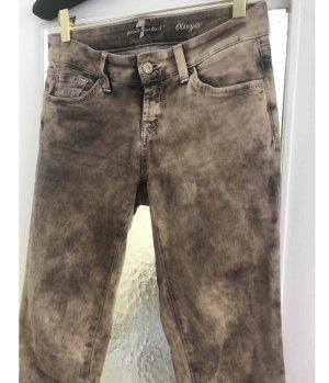 Edle Jeans graubeige Washed Olivya w 26/27