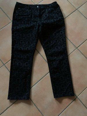 Canda Jeansy z wysokim stanem czarny