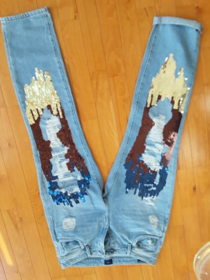 Edle jeans pepe jeans, taper, gr, 36 (27/30)