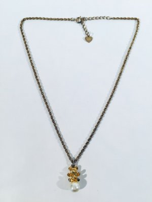 Sonia Rykiel Necklace gold-colored-white metal