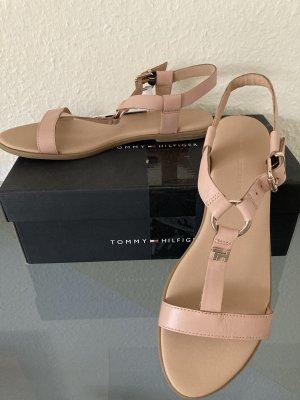 Edle Leder Sandaletten Gr 42 von Tommy Hilfiger Neu!