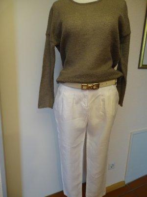 Sinéquanone Linen Pants white linen