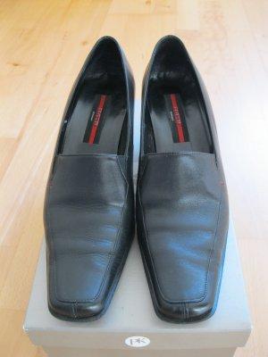 Edle Lloyd Pumps, schwarz, Größe 37,5, Leder