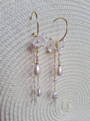 Boutique Dangle gold-colored-natural white