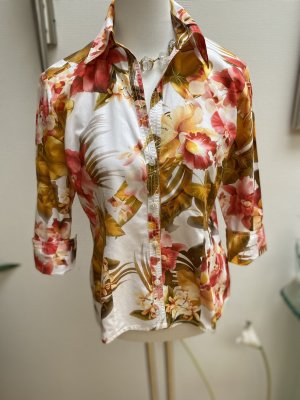 Otto Kern Short Sleeved Blouse multicolored