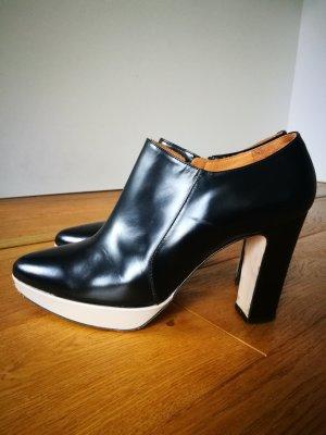 Edle Plateau-Ankle Boots