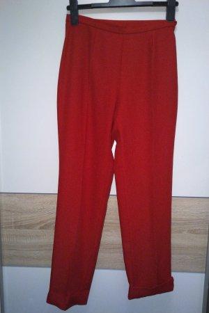 Edle rote Anzughose, Sintesis, S, retro