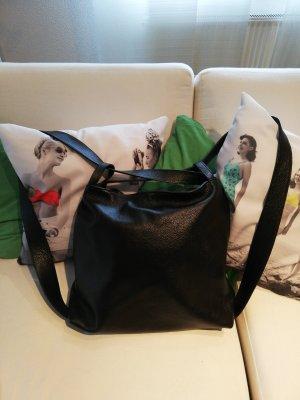Börse in Pelle Shoulder Bag black