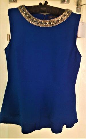 New Look Blusa senza maniche blu Poliestere