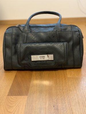 Edle schwarze Guess Handtasche