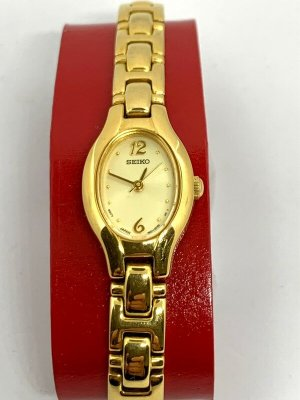 Seiko Orologio con cinturino di metallo oro