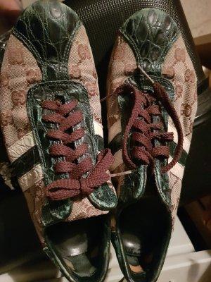 Edle Sneaker v. Gucci, gr. 38, grün