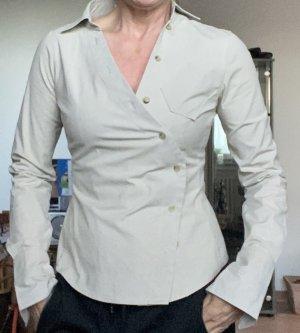 Edle Taillierte Bluse von #Goldpfeil Gr. 36/38