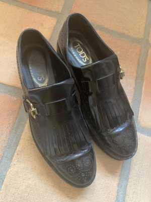edle Tod's Loafers mit Plateau